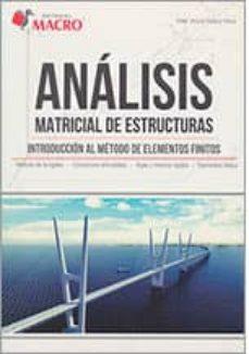 Analisis Matricial Estructuras Alder Quispe Comprar Libro 9786123043100
