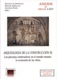 Curiouscongress.es Arqueologia De La Construccion. Tomo Iii Image