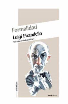 formalidad (ebook)-luigi pirandello-9788415564300