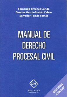 Eldeportedealbacete.es Manual De Derecho Procesal Civil (2ª Ed.) Image