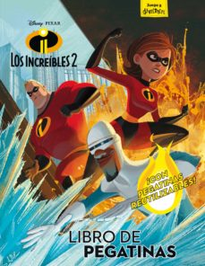 Padella.mx Los Increíbles 2. Libro De Pegatinas Image