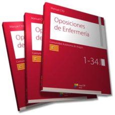 Descargar nuevos libros gratis en línea MANUAL CTO DE OPOSICIONES DE ENFERMERÍA - ARAGÓN 9788416932900 en español de  ePub