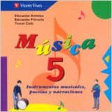 Debatecd.mx Musica 5 (Educacion Primaria. Tercer Ciclo) (Incluye Cd) Image