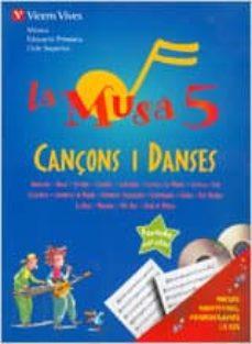 Geekmag.es La Musa 5. Cançons I Danses. Llibre + 2 Cd. Primaria 5º Image