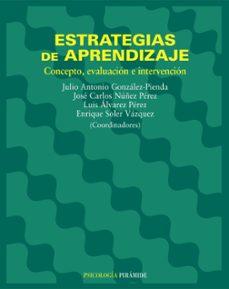 Chapultepecuno.mx Estrategias De Aprendizaje: Concepto, Evaluacion E Intervencion Image
