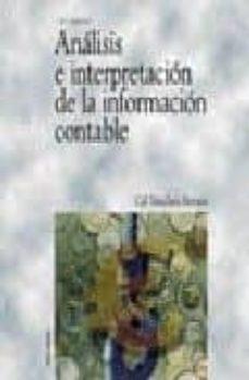 Cronouno.es Analisis E Interpretacion De La Informacion Contable (2ª Ed.) Image