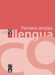 primeres errades llengua eso. quadern 1-nuria martin-montserrat miro-9788441202900