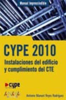 Cdaea.es Cype 2010: Instalaciones Del Edificio (Manual Imprescindible) Image