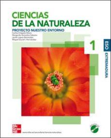 Lofficielhommes.es Ciencias Naturales. 1º Eso. Nuestro Entorno. (Extremadura) Image
