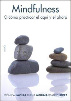 mindfulness: como practicar el aqui y el ahora-monica lavilla presas-diana molina lopez-beatriz lopez villar-9788449321900