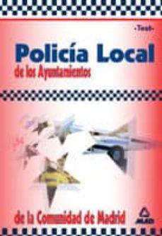 Noticiastoday.es Policia Local De Los Ayuntamientos De La Comunidad De Madrid: Tes T Image