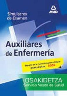 Upgrade6a.es Auxiliares De Enfermeria Del Servicio Vasco De Salud-osakidetza: Simulacros De Examen Image