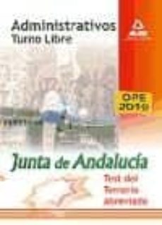Noticiastoday.es Administrativos De La Junta De Andalucia: Turno Libre.test Del Te Mario Abreviado Image