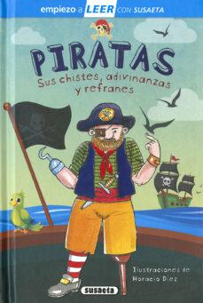 piratas. sus chistes, adivinanzas y canciones empiezo a leer 6-7 letra ligada-carlos reviejo-9788467775600