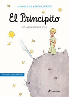 el principito (2ª ed.) frances-castellano-antoine de saint-exupery-9788478887200