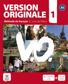 version originale 1 eleve (a1): methode de français (incluye cd e t dvd)-9788484435600