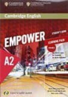 Descarga de libros electrónicos para pc CAMBRIDGE ENGLISH EMPOWER FOR SPANISH SPEAKERS A2 STUDENT S BOOK WITH ONLINE ASSESSMENT AND PRACTICE AND WORKBOOK de