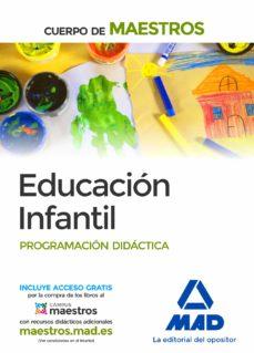 cuerpo de maestros educación infantil. programación didáctica-9788490930700