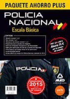 Encuentroelemadrid.es Paquete Ahorro Plus Escala Básica Policía Nacional (Temarios 1 Y 2, Test 1 Y 2, Simulacros 1 Y 2, Preparación Prueba Ortografía, Image