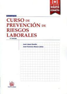 Encuentroelemadrid.es Curso De Prevencion De Riesgos Laborales (17ª Ed.) Image
