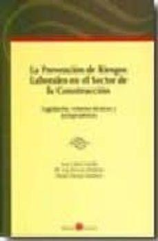 Descargar LA PREVENCION DE RIESGOS LABORALES EN EL SECTOR DE LA CONSTRUCCIO N: LEGISLACION, CRITERIOS TECNICOS Y JURISPRUDENCIA gratis pdf - leer online