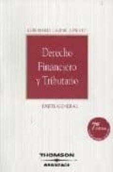 Sopraesottoicolliberici.it Derecho Financiero Y Tributario. 7ª Ed. Image