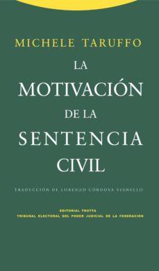 la motivacion de la sentencia civil-michele taruffo-9788498792300