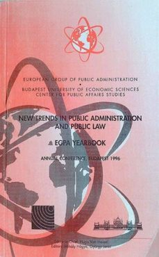 NEW TRENDS IN PUBLIC ADMINISTRATION AND PUBLIC LAW - HUGO, VAN HASSEL | Adahalicante.org
