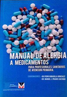 MANUAL DE ALERGIA A MEDICAMENTOS - VVAA | Adahalicante.org