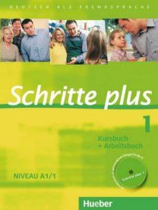 Descargas de audiolibros en francés gratis. SCHRITTE PLUS 1 NIVEAU A1/1. KURSBUCH + ARBEITSBUCH MIT AUDIO-CD ZUM ARBEITSBUCH: DEUTSCH ALS FREMDSPRACHE CHM 9783190119110
