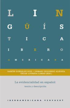 la evidencialidad en español (ebook)-ramon gonzalez ruiz-9783954878710