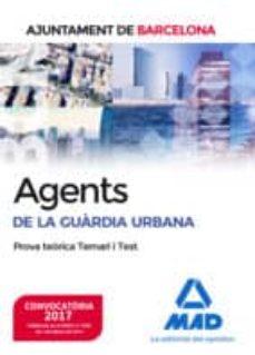 Permacultivo.es Agents De La Guàrdia Urbana De L´ajuntament De Barcelona. Prova Teòrica Temari I Test Image