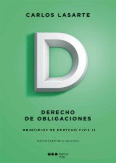 Costosdelaimpunidad.mx Principios De Derecho Civil Ii. Derecho De Obligaciones (17ª Ed) Image