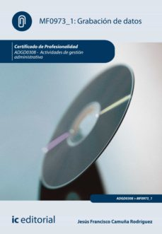 grabación de datos. adgd0308 (ebook)-9788416207510