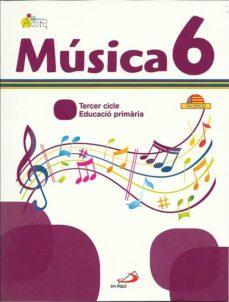 Inmaswan.es Musica 6 - Projecte Acord. Libro Del Alumno + Cuaderno Actividades. Valenciano: Educació Primària. 3º Cicle Image