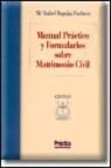Srazceskychbohemu.cz Manual Practico Y Formularios Sobre Matrimonio Civil Image