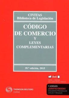 Inmaswan.es Codigo De Comercio Y Leyes Complementarias (39ª Ed.) (Duo) Image