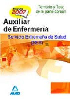 Carreracentenariometro.es Auxiliares De Enfermeria Del Servicio Extremeño De Salud (Ses). T Emario Y Test De La Parte Comun Image