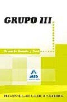 Geekmag.es Personal Laboral Ministerios. Grupo Iii. Temario Comun Y Test Image