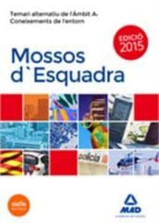 Chapultepecuno.mx Mossos D`esquadra. Temari Alternatiu De L´ambit A: Coneixements De L´entorn Image