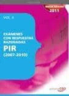 Inmaswan.es Examenes P.i.r Con Respuestas Razonadas (2007-2010) Vol.ii Image