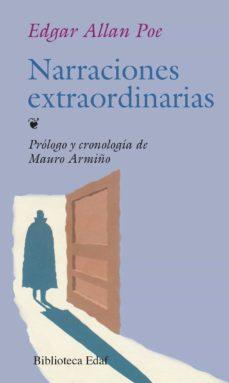 Descargas de libros electrónicos gratis en el Reino Unido NARRACIONES EXTRAORDINARIAS (6ª ED.) en español de EDGAR ALLAN POE