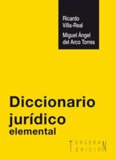 Descargar DICCIONARIO JURIDICO ELEMENTAL gratis pdf - leer online
