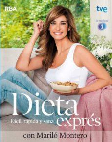 dieta expres con marilo montero-marilo montero-9788490560310