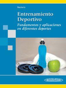 Audiolibro gratuito para descargar ENTRENAMIENTO DEPORTIVO. FUNDAMENTOS Y APLICACIONES EN DIFERENTES DEPORTES