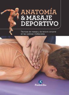 anatomía & masaje deportivo (color) (ebook)-9788499107110