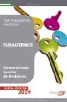 Viamistica.es Subalternos De Corporaciones Locales De Andalucia: Test Y Supuest Os Practicos Image