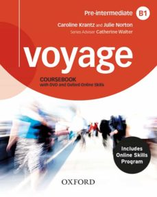 Se descarga libros VOYAGE B1 STUDENT BOOK + WORKBOOK  OOSP WITH KEY en español