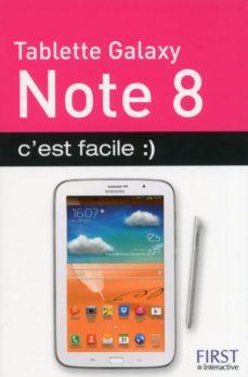 tablette samsung galaxy note 8, c'est facile :) (ebook)-paul durand degranges-9782754066020