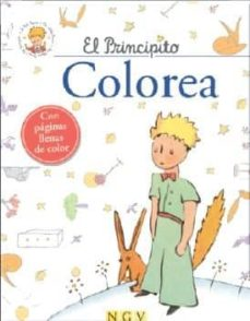 El Principito Colorea Antoine De Saint Exupery Comprar Libro 9783849903220